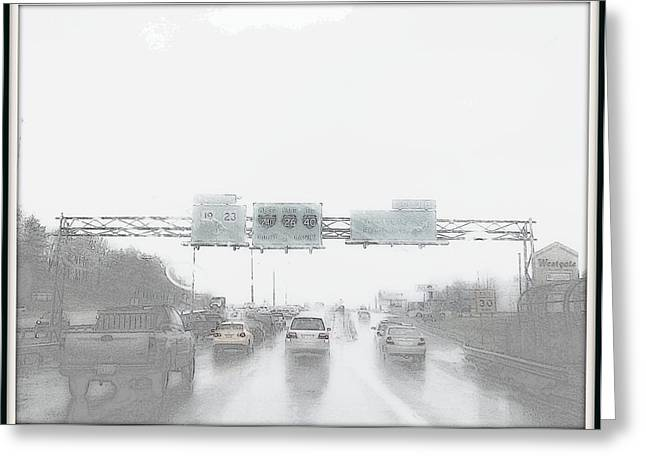 Another Rainy Day Greeting Card