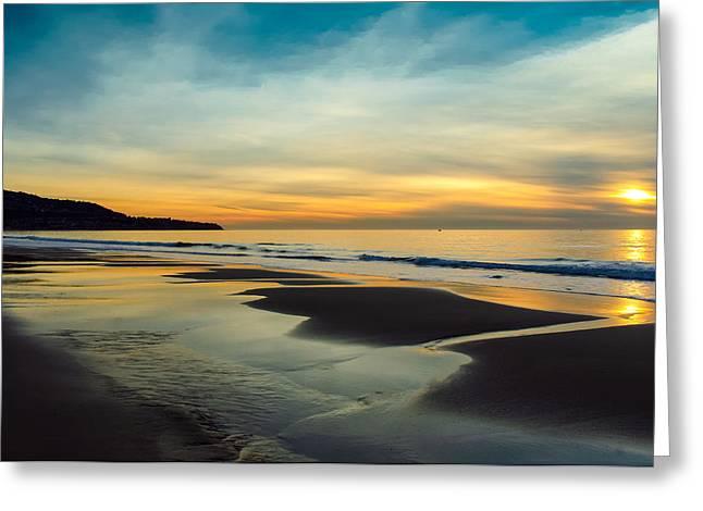 Another Redondo Beach Sunset Greeting Card