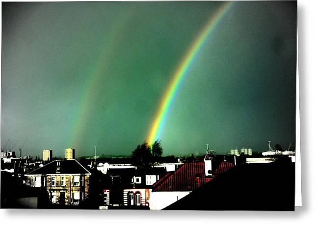 Another Scottish Rainbow Greeting Card