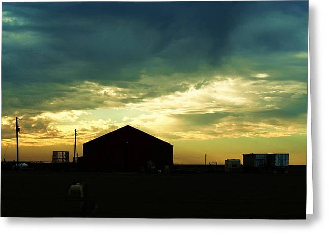 Another Texas Sky Greeting Card