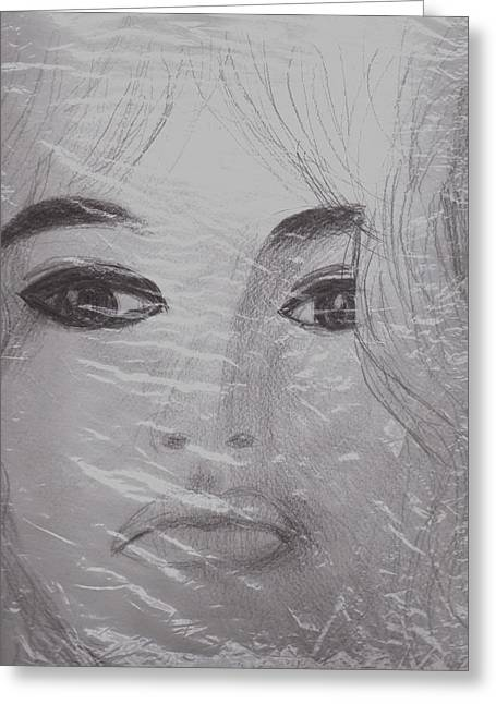 Another View Of Bardot Greeting Card