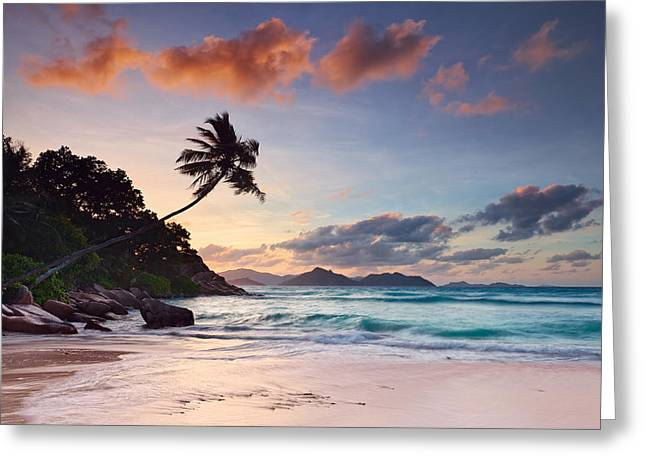 Anse Severe Greeting Card by Michael Breitung