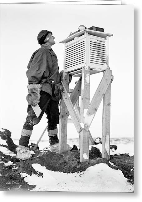Antarctic Meteorology Research Greeting Card