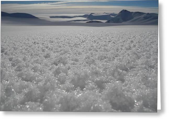 Antarctica Landscape Greeting Card