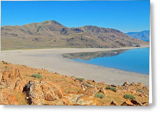 Antelope Island Greeting Card
