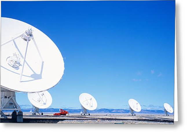 Antenna Configuration Nm Usa Greeting Card by Panoramic Images