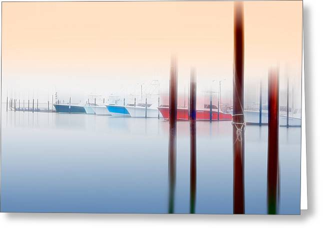 Anticipation - A Tranquil Moments Landscape Greeting Card by Dan Carmichael