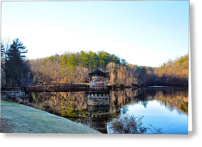Antietam Creek - Berks County Pa. Greeting Card by Bill Cannon