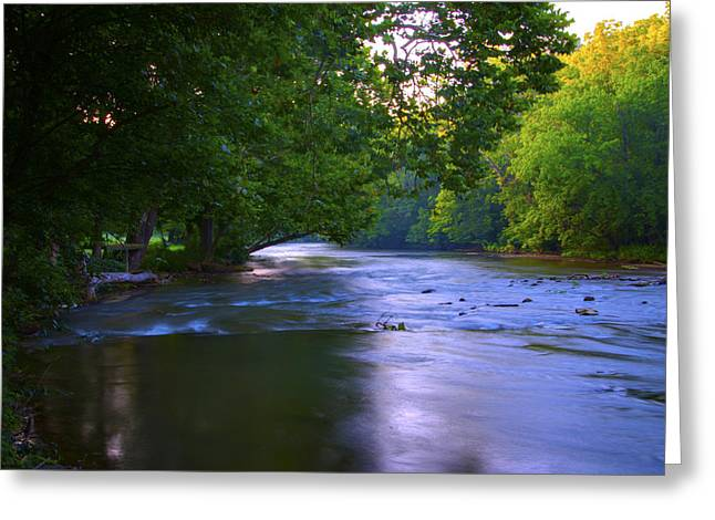 Antietam Creek - Hagerstown Maryland Greeting Card by Bill Cannon