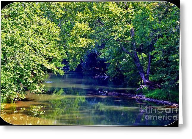 Antietam Creek Greeting Card by Patti Whitten