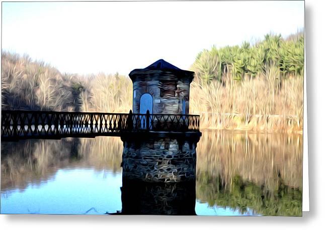 Antietam Creek Reading Pa Greeting Card by Bill Cannon