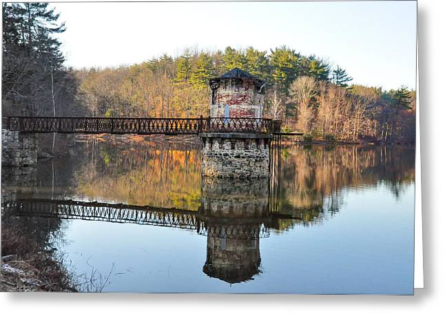 Antietam Lake - Reading Pa Greeting Card by Bill Cannon