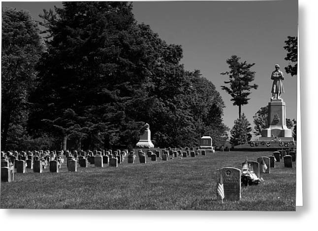 Antietam National Cemetery Greeting Card