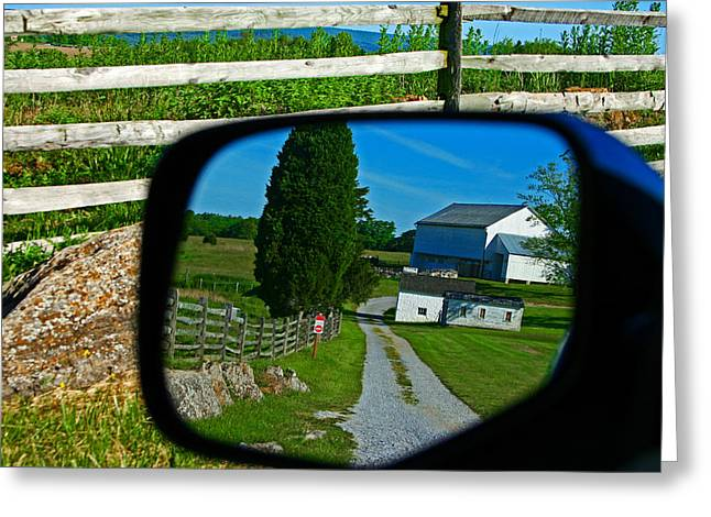 Greeting Card featuring the photograph Antietam Reflections by Andy Lawless