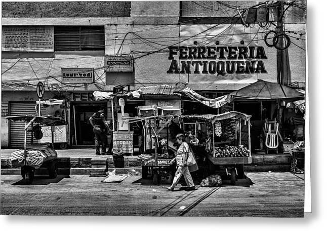 Greeting Card featuring the photograph Antioquena Barranquilla  by Rob Tullis