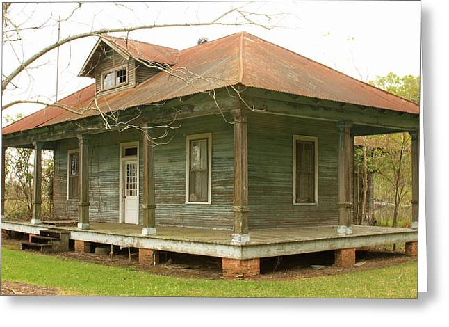 Antique And Abandoned House Greeting Card