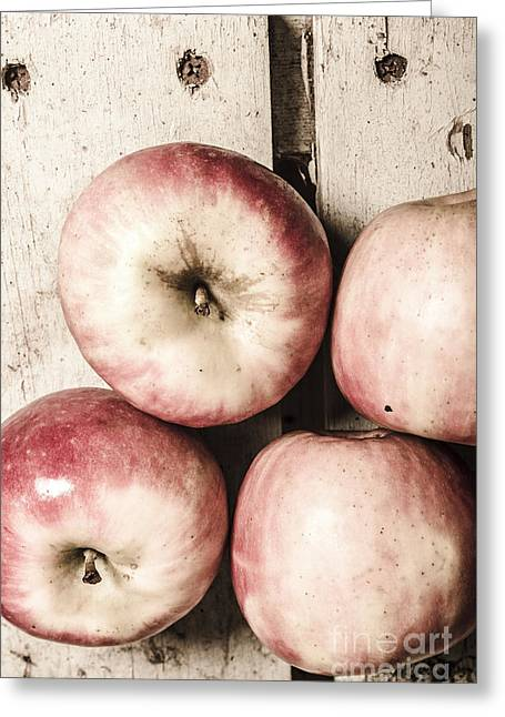 Antique Apples Greeting Card by Jorgo Photography - Wall Art Gallery