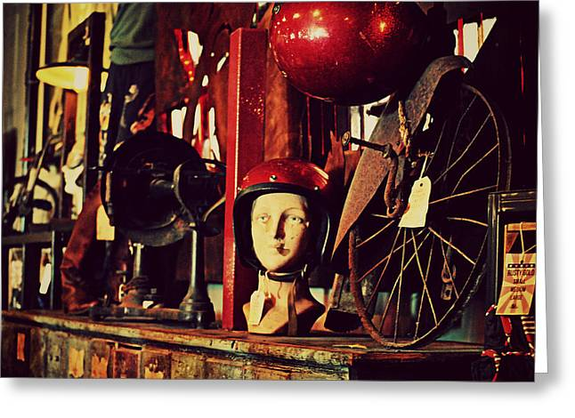 Antique Archaeology Greeting Card by Chastity Hoff