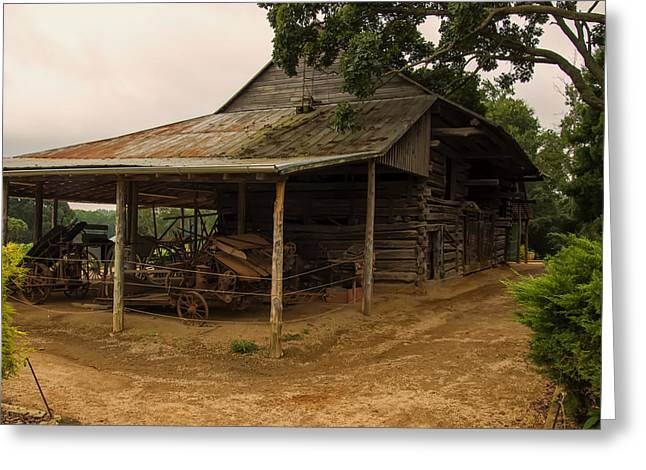 Antique Barn Greeting Card by Chris Flees