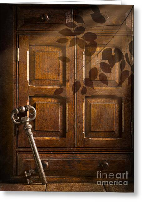 Antique Cabinet Greeting Card