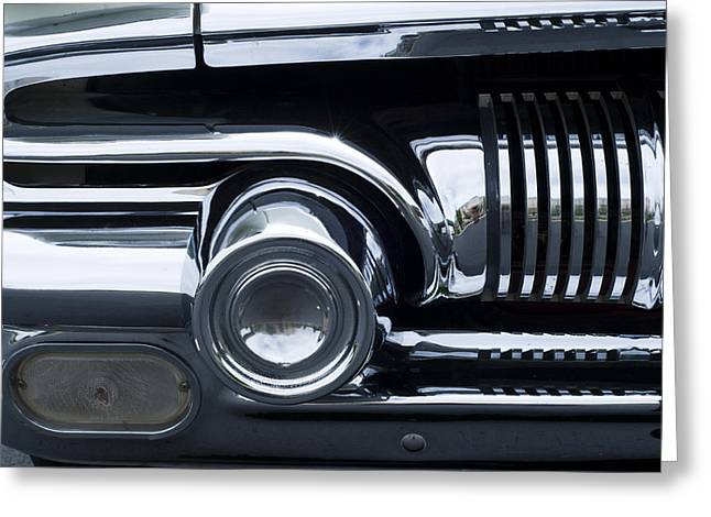 Antique Car Grill Greeting Card