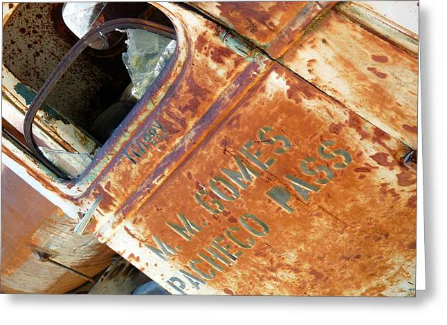 Antique Chevrolet Farm Truck Greeting Card