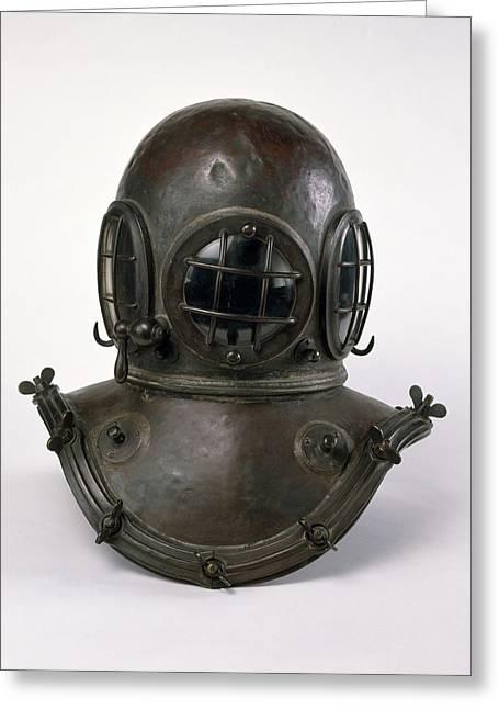 Antique Diving Helmet Greeting Card by Dorling Kindersley/uig