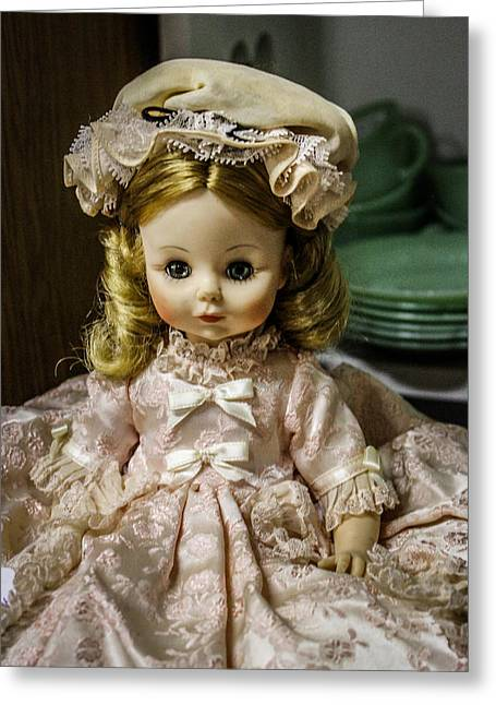 Antique Doll Greeting Card