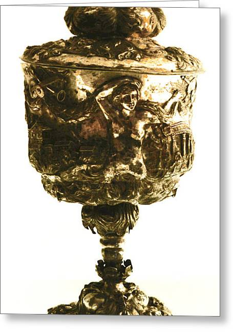 Antique Goblet  Greeting Card