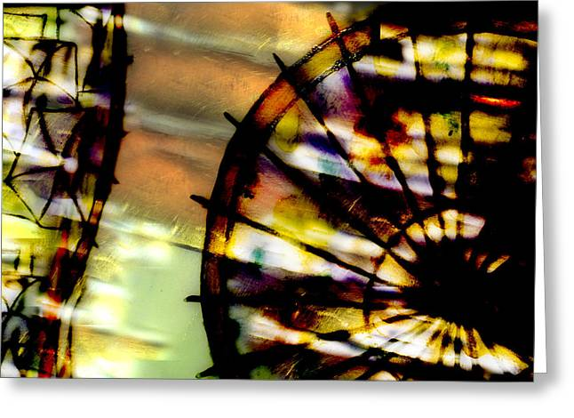 Color Wheel Greeting Card by Don Gradner
