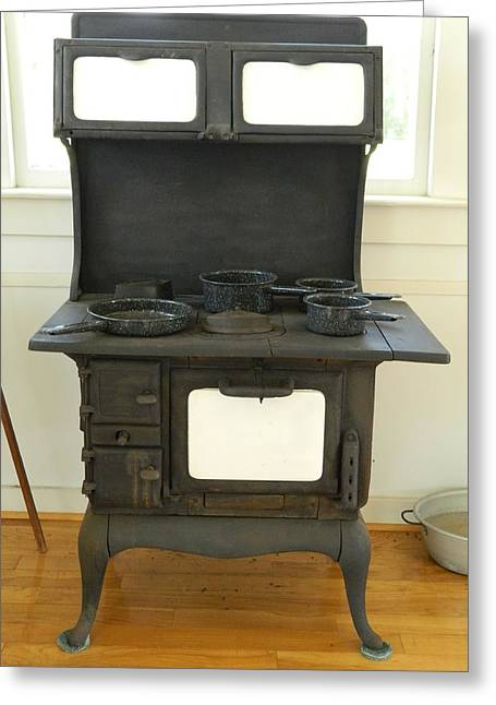 Antique Stove Number 2 Greeting Card