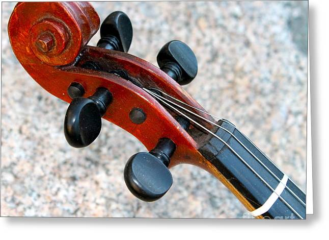 Antique Violin Greeting Card