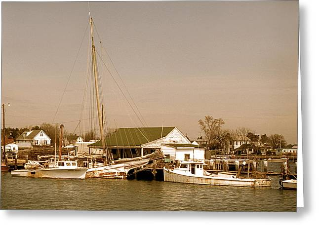 Antiques At Deal Island Greeting Card