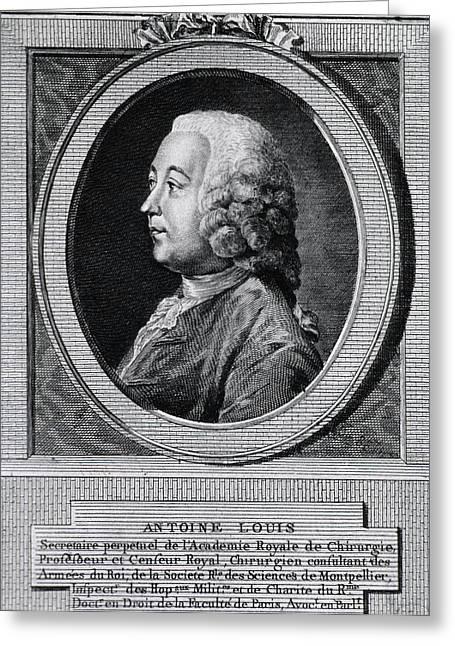 Antoine Louis Greeting Card