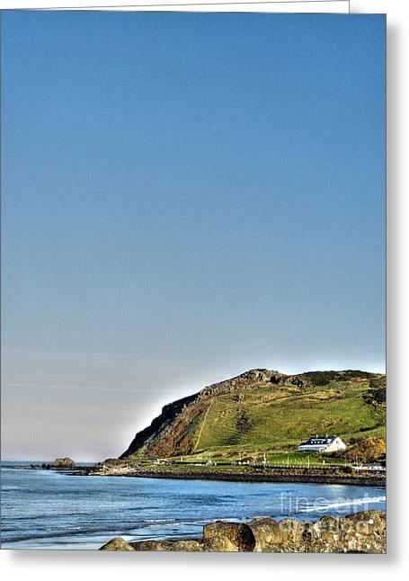 Antrim Coast Greeting Card by Nina Ficur Feenan