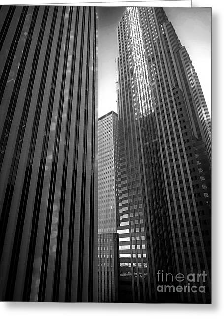 Aon Center Greeting Card