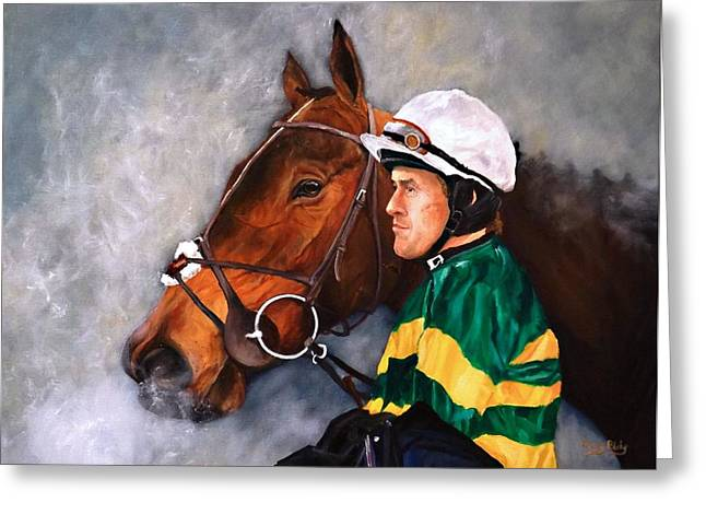 A.p. Mccoy 4000 Up Greeting Card by Barry BLAKE