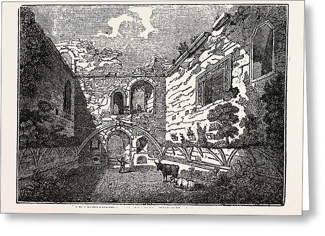 Apartments Of Mary Queen Of Scots In Tutbury Castle Greeting Card by Litz Collection
