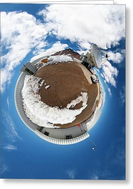 Apex Telescope Greeting Card