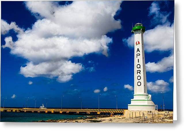 Apigroo Lighthouse Greeting Card