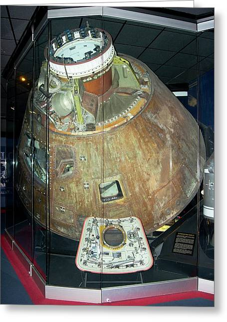 Apollo 13 Capsule. Greeting Card
