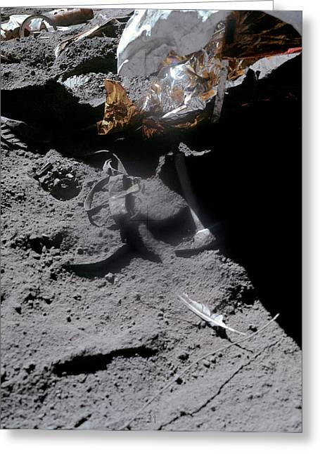 Apollo 15 Gravity Demonstration Greeting Card by Nasa