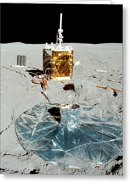 Apollo 16 Alsep Equipment Greeting Card by Nasa