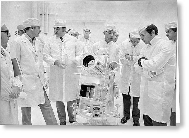 Apollo 16 Surface Experiments Review Greeting Card by Nasa