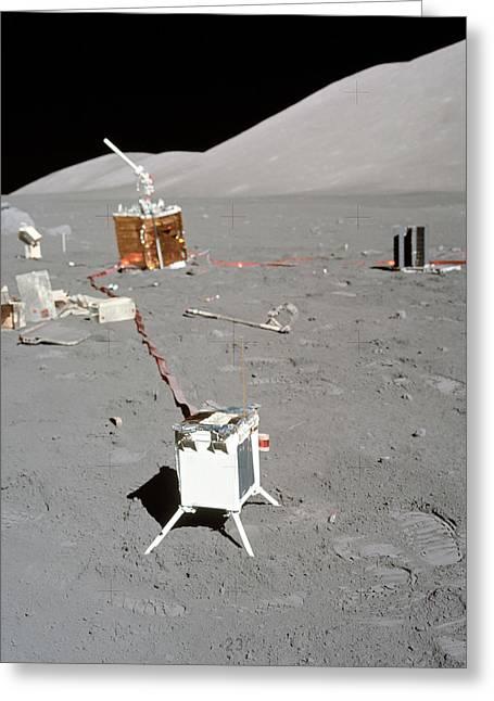 Apollo 17 Alsep Equipment Greeting Card