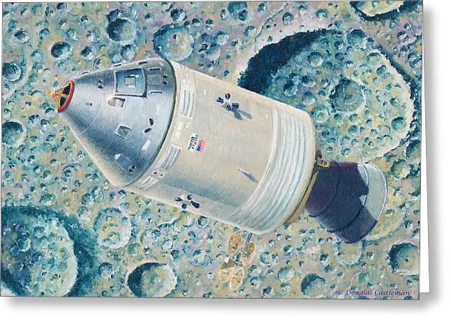 Apollo 8 Greeting Card