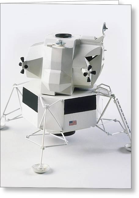 Apollo 9 Lunar Module Greeting Card by Dorling Kindersley/uig