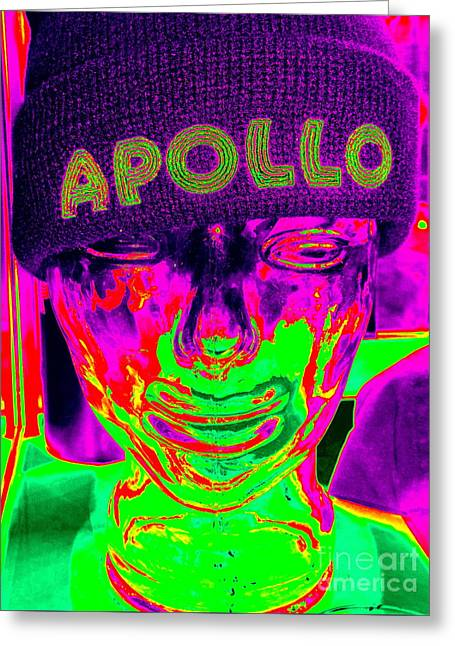 Apollo Abstract Greeting Card