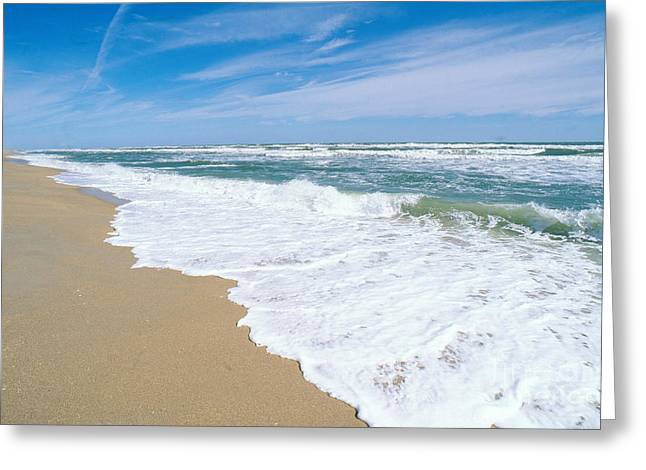 Apollo Beach Greeting Card by Millard H. Sharp