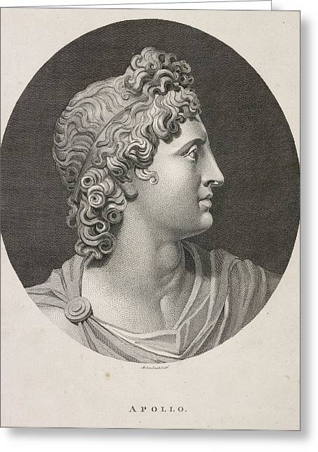 Apollo Greeting Card by British Library